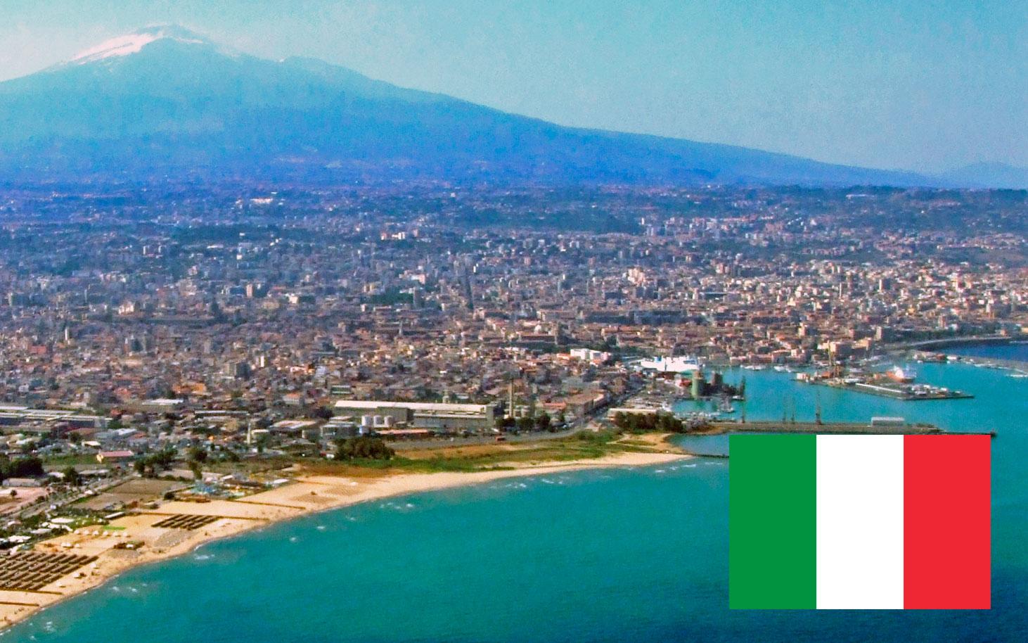 Segunda reunión En la ciudad de Catania, Sicilia (Italia)