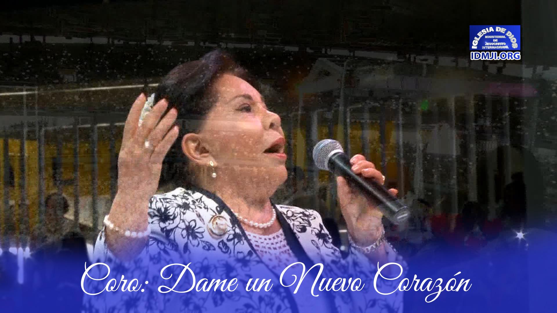 Hna María Luisa Piraquive Coro Dame Un Nuevo Corazón Cali