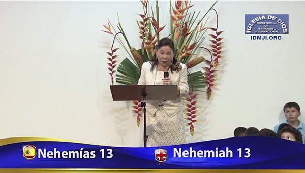 Estudio Bíblico: Nehemías 13