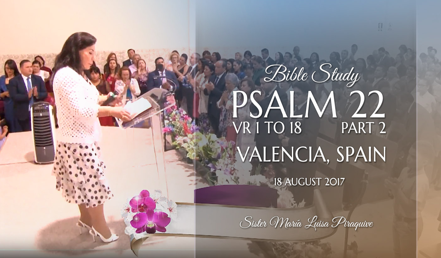 Psalm 22 vr 1to 18 – Part 2