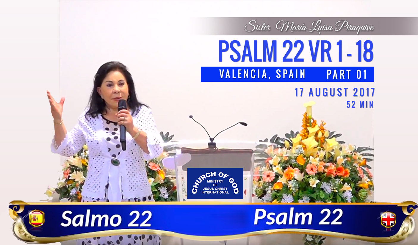 Psalm 22 vr 1 to 18 – Part 1