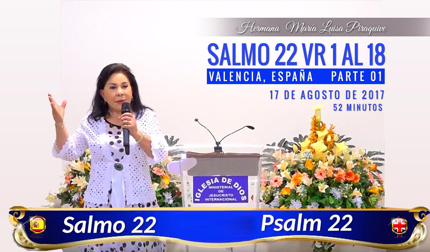 455 – Estudio bíblico, Salmo 22 vr 1 al 18 – Parte 01