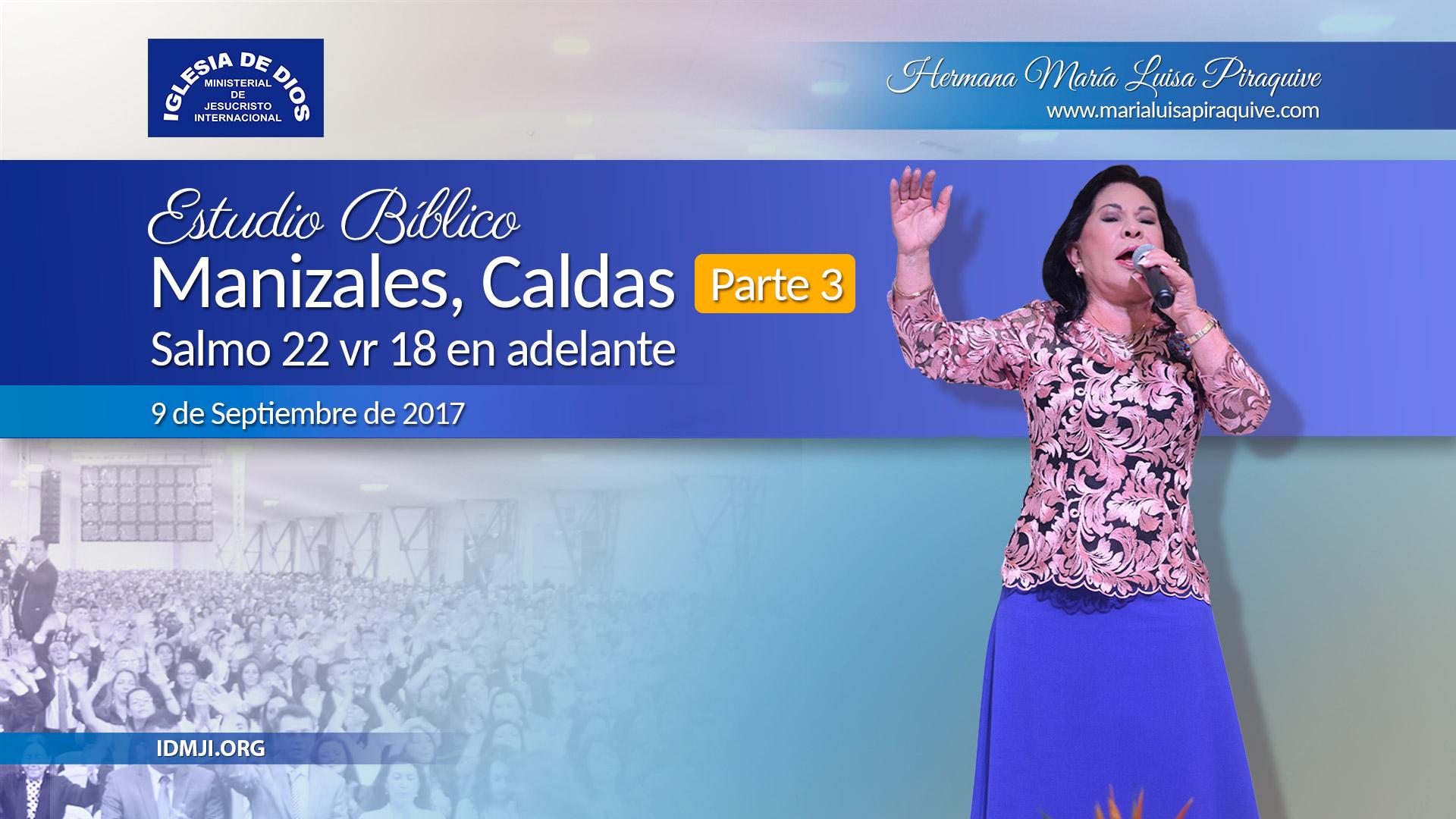 Estudio bíblico: Manizales Colombia – Parte 3
