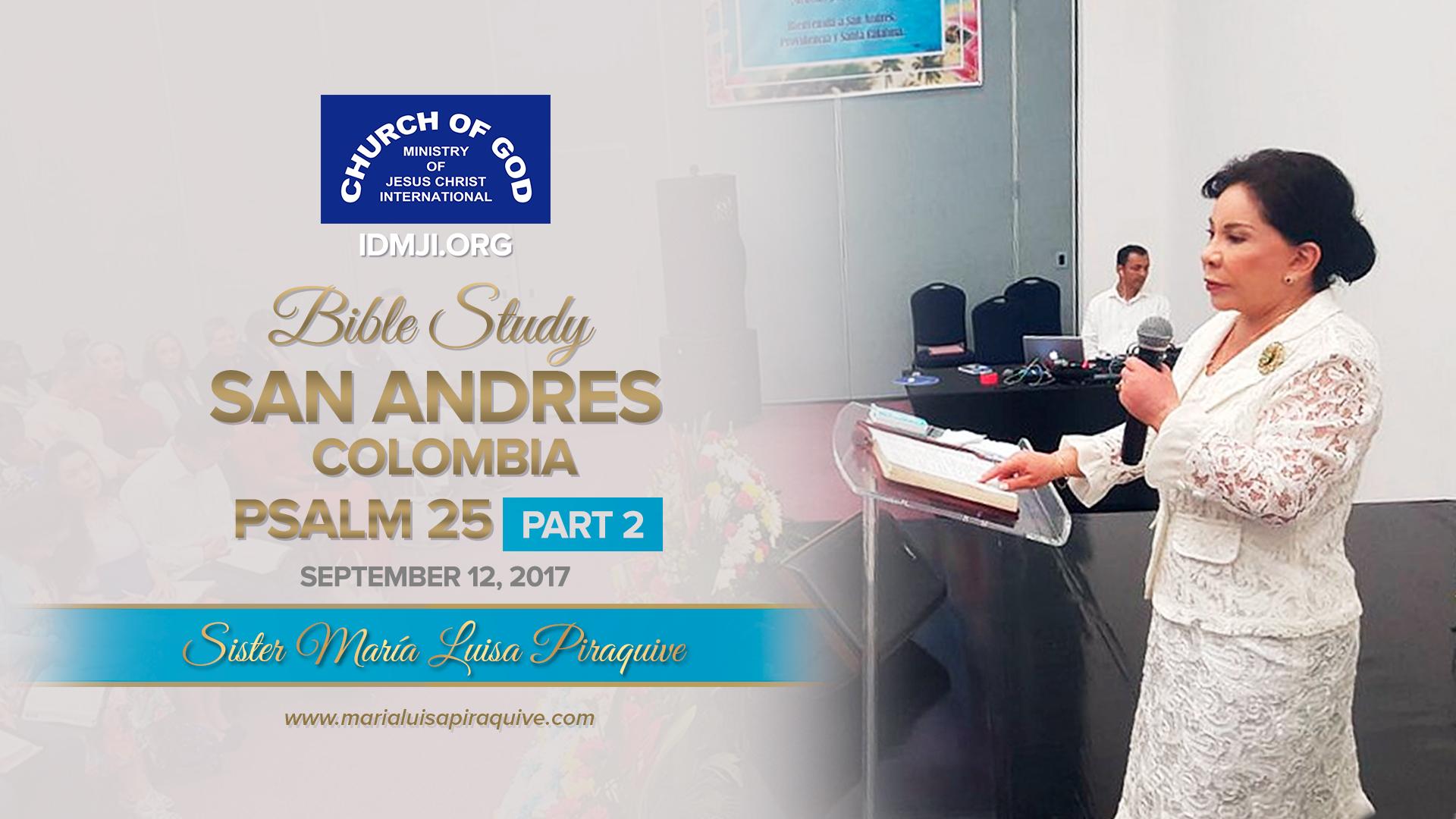Bible Study: San Andrés Colombia (Part 2)