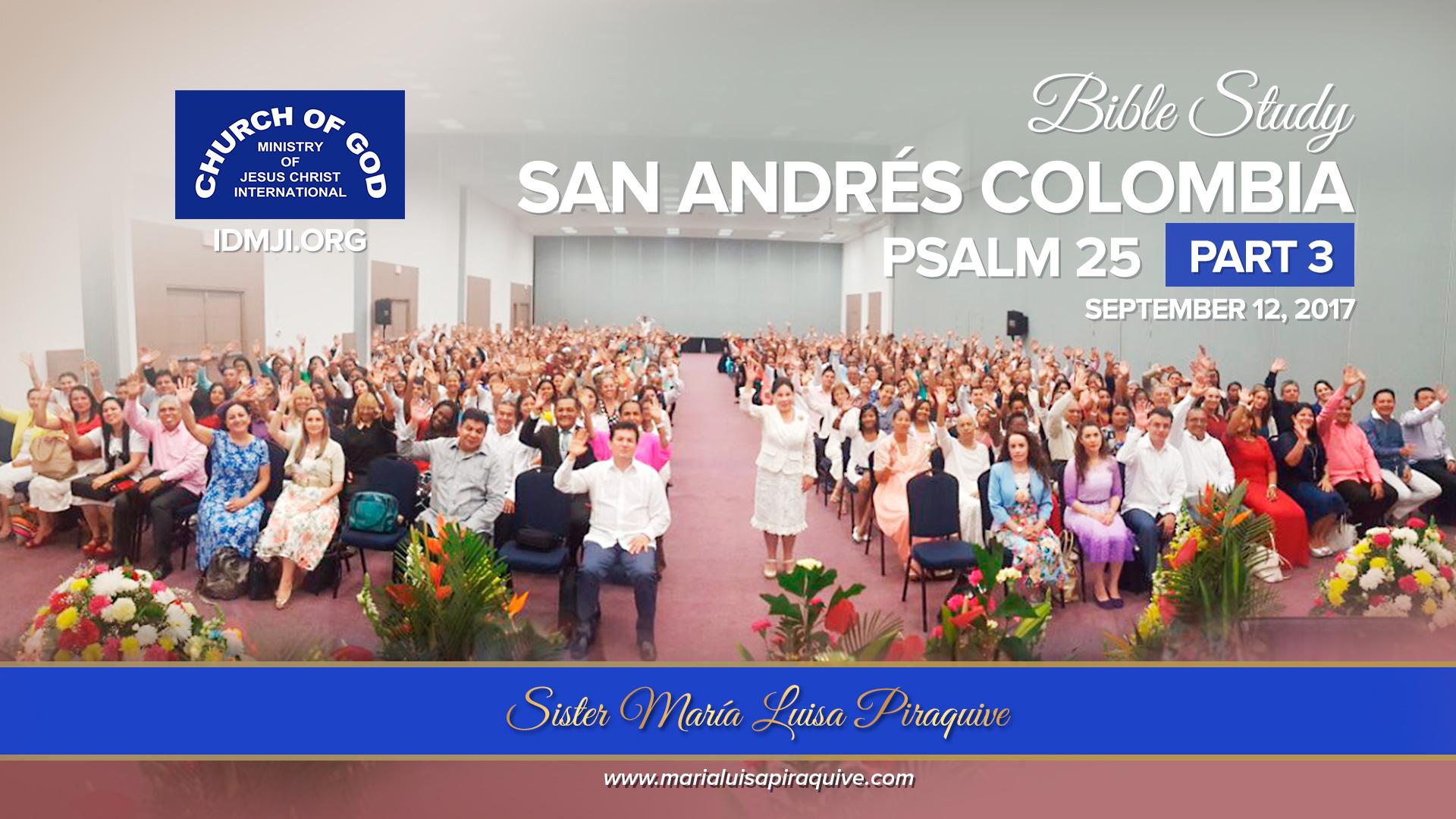 Bible Study: San Andrés Colombia (Part 3)
