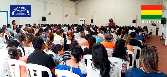 Fotos de la inauguración iglesia Santa Cruz de la Sierra – Bolivia