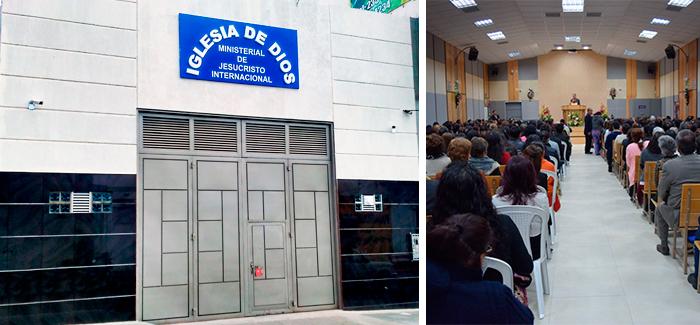 Apertura de la Iglesia en Chapinero, Bogotá, Colombia