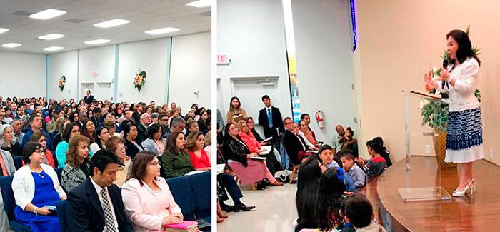 Fotos de la visita de la hermana María Luisa Piraquive a Tampa Florida (Estados Unidos) 16 de Marzo de 2018