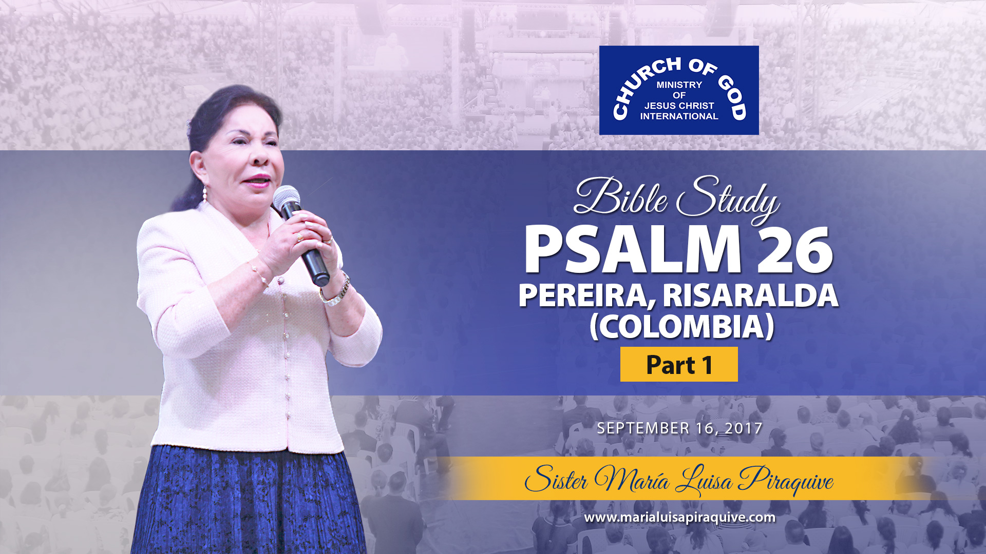 Bible Study Psalm 26 Pereira Colombia Part 1