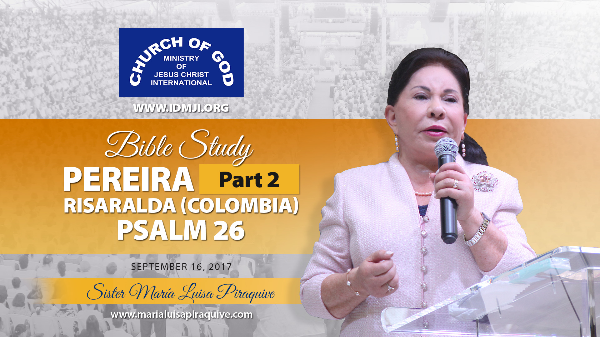Bible Study: Pereira Part 2