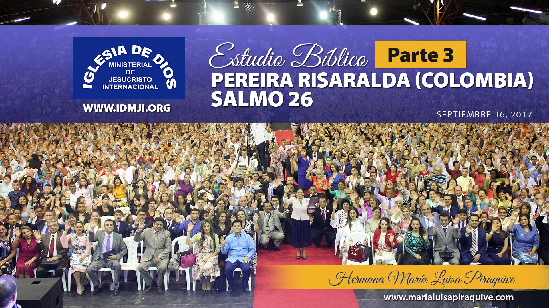 Estudio bíblico en Pereira Risaralda (Colombia) Parte 3