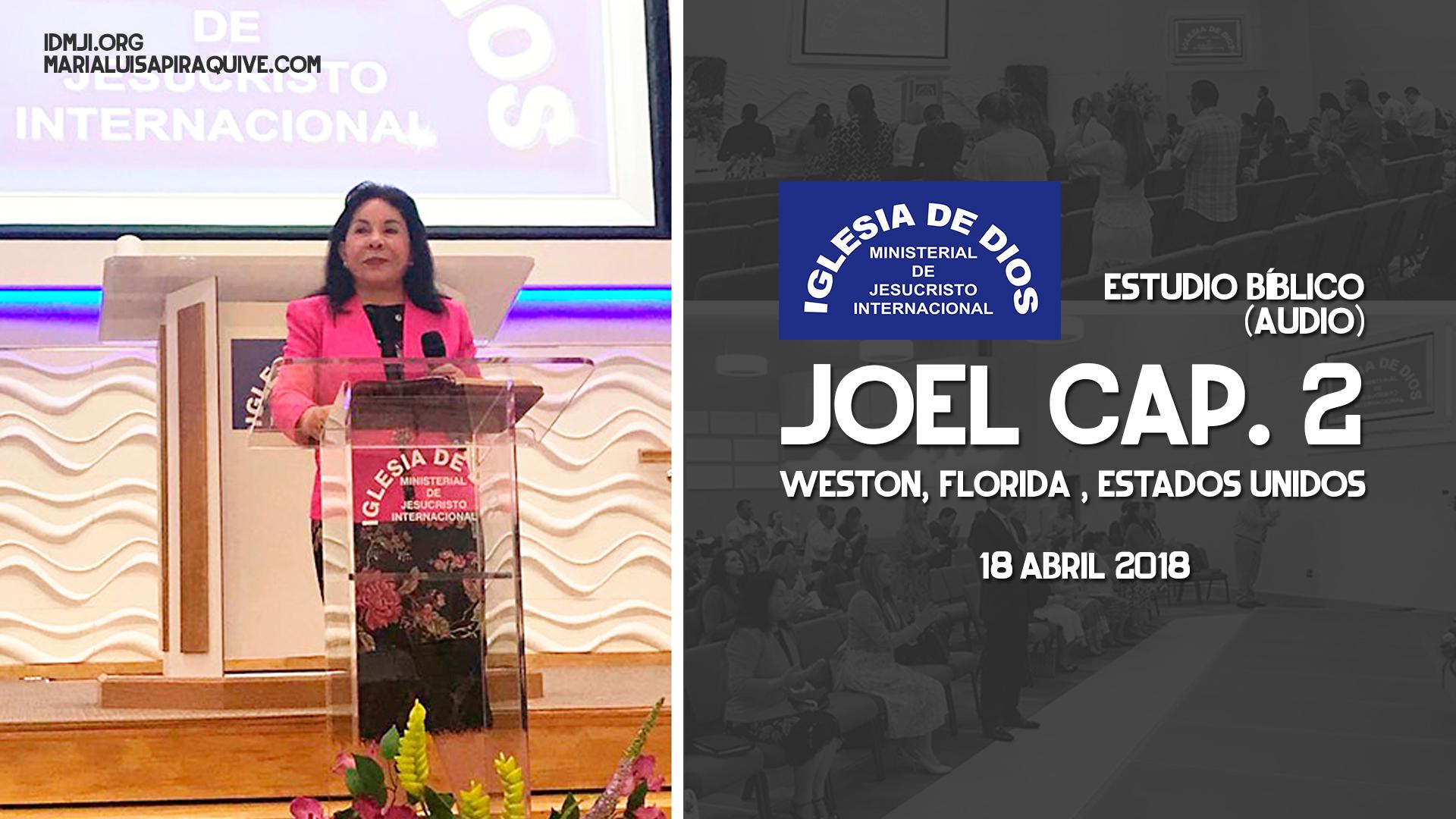 Audio: Estudio Bíblico Joel Cap. 2