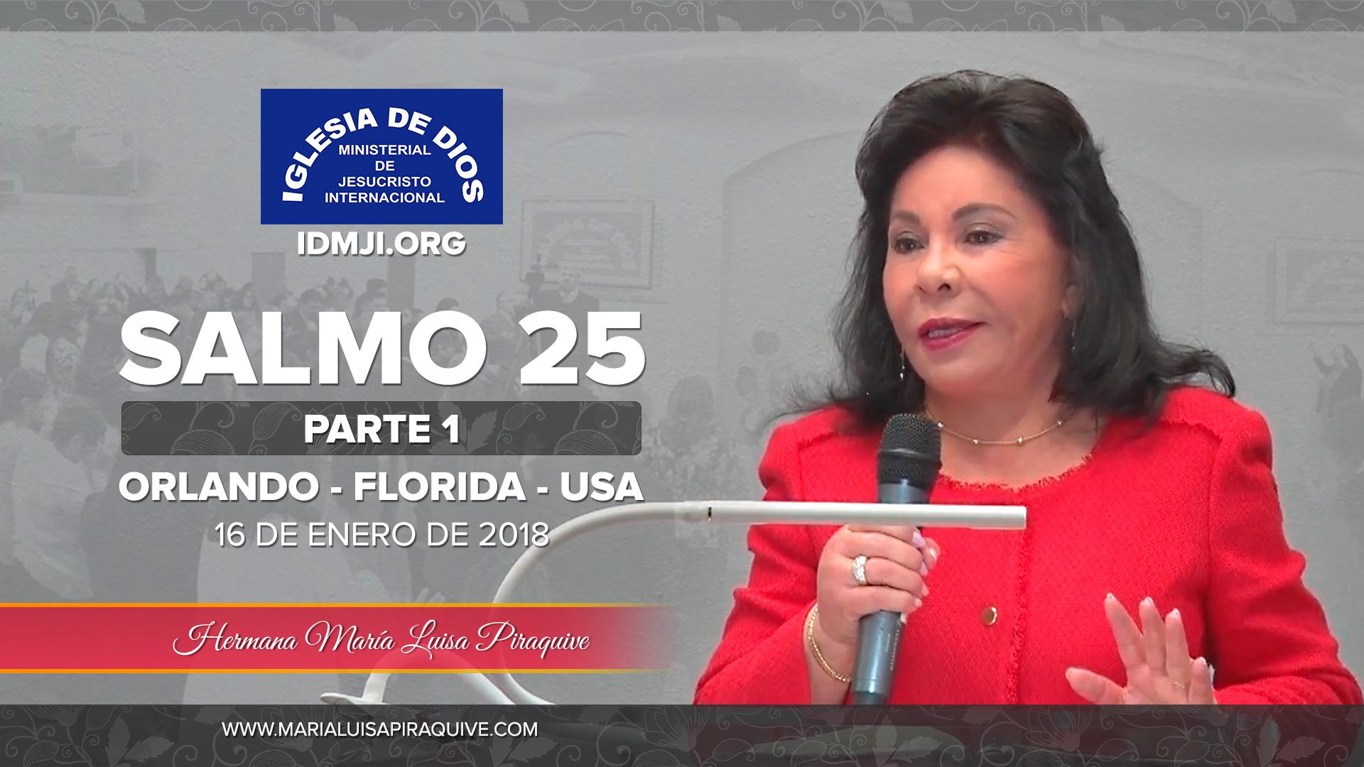 Estudio Bíblico: Salmo 25 Parte 1 – Orlando Florida