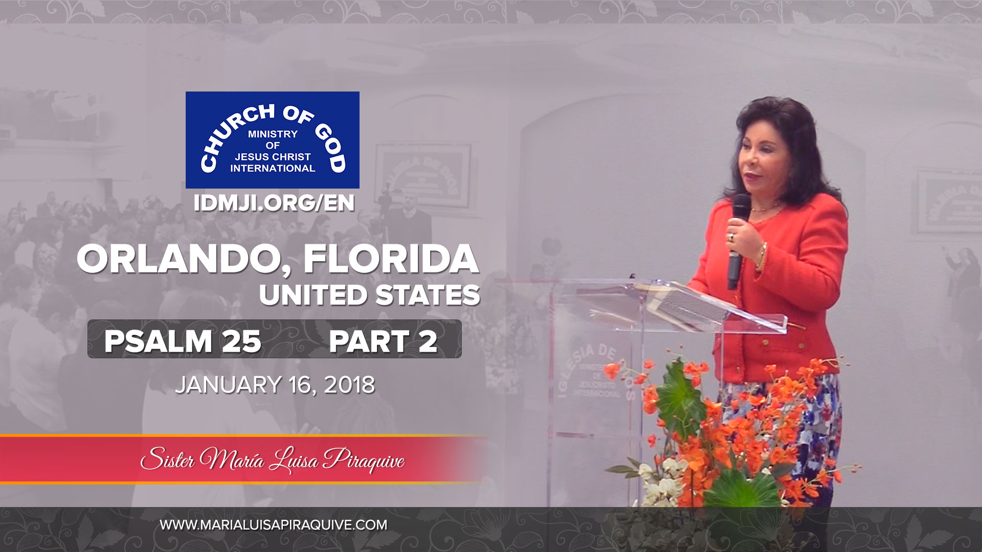 Bible study: Psalm 25 part 2, Orlando Florida
