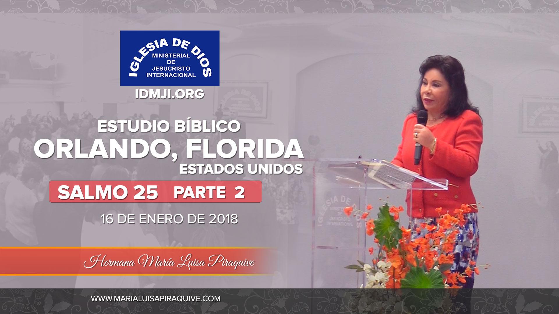 Estudio Bíblico Parte 2 – Orlando Florida