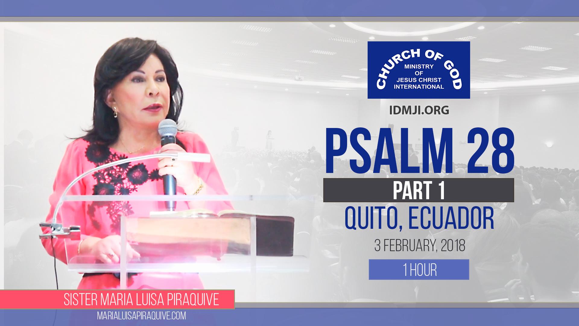 Psalm 28, Part 1