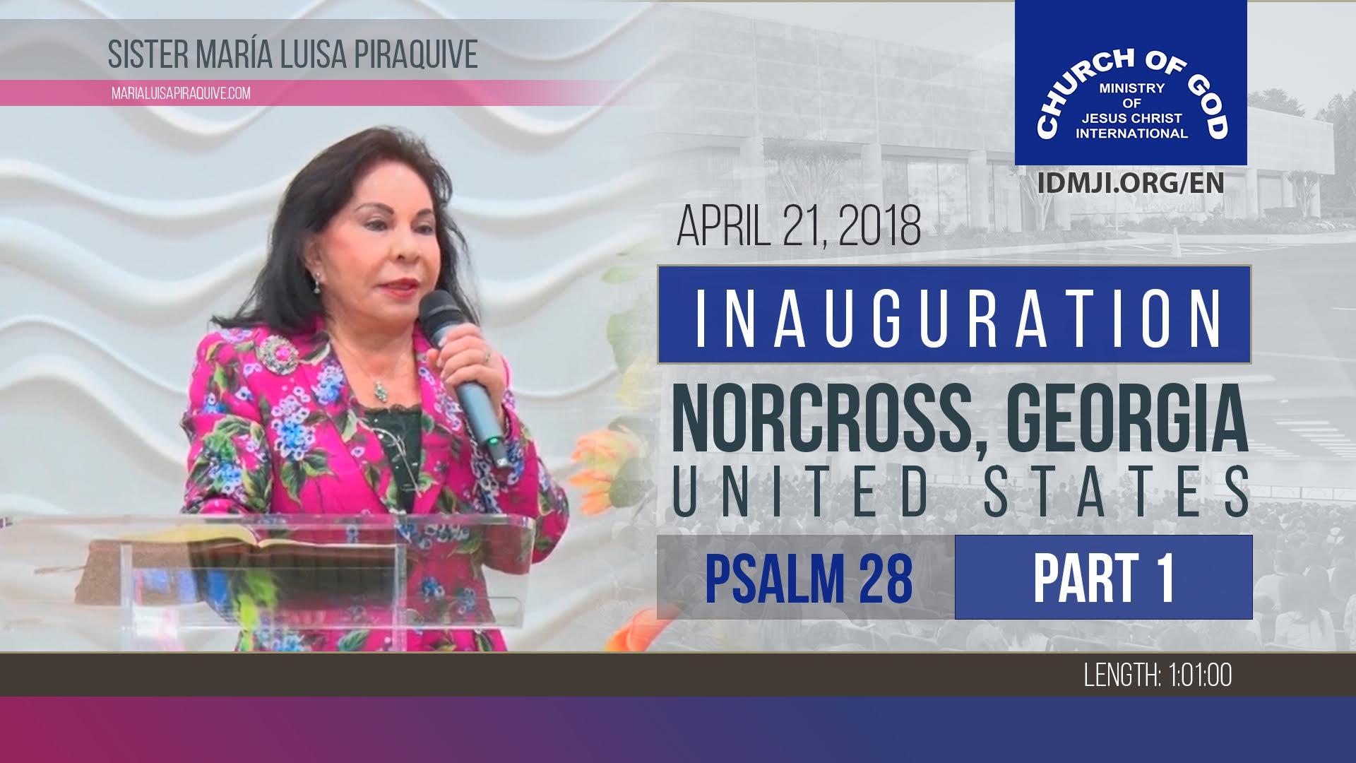 Inauguration Norcross, Georgia, United States (Part 1)