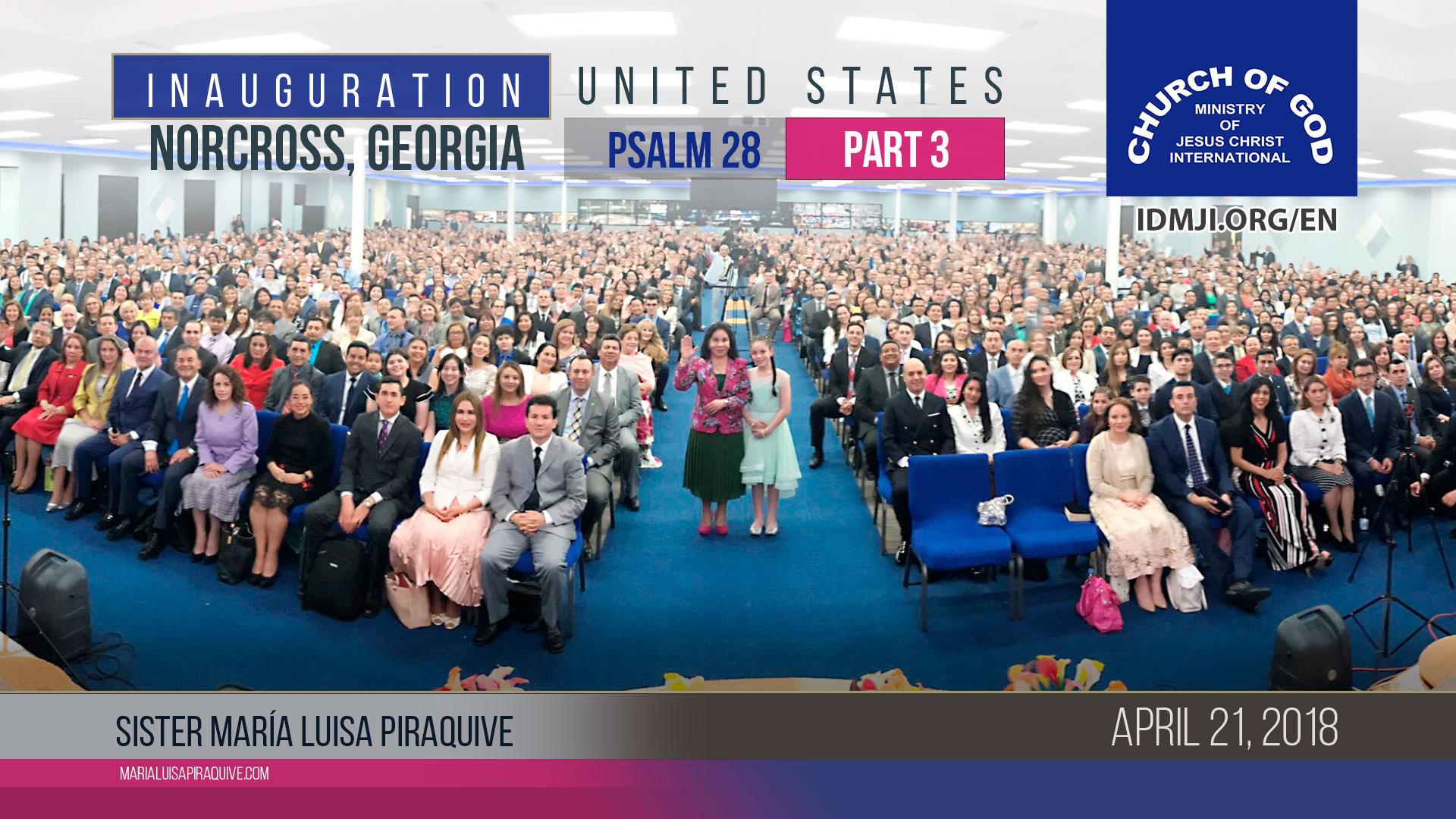 Inauguration Norcross, Georgia, United States (Part 3)