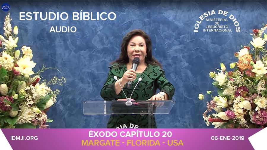 Audio – Éxodo 20 – Hna. María Luisa Piraquive