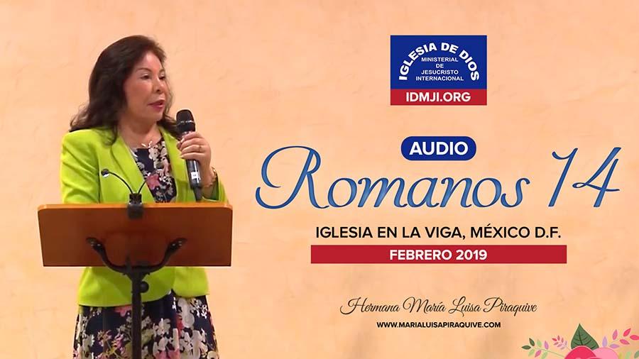 Audio – Romanos capítulo 14