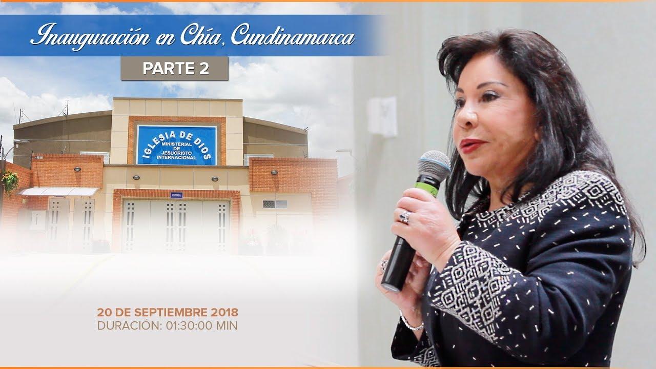 Inauguración Iglesia en Chía Parte 2