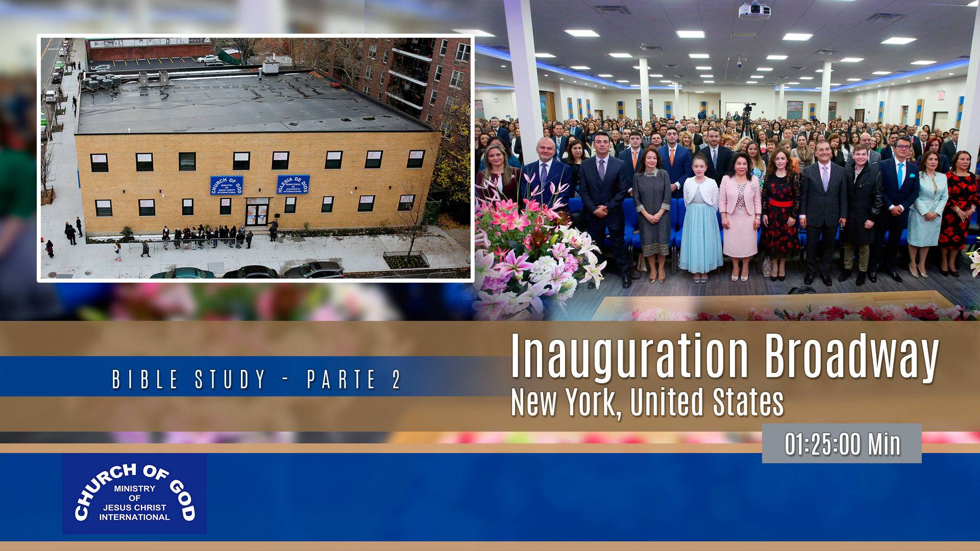 Inauguration: Broadway, New York – Part 2 (English)