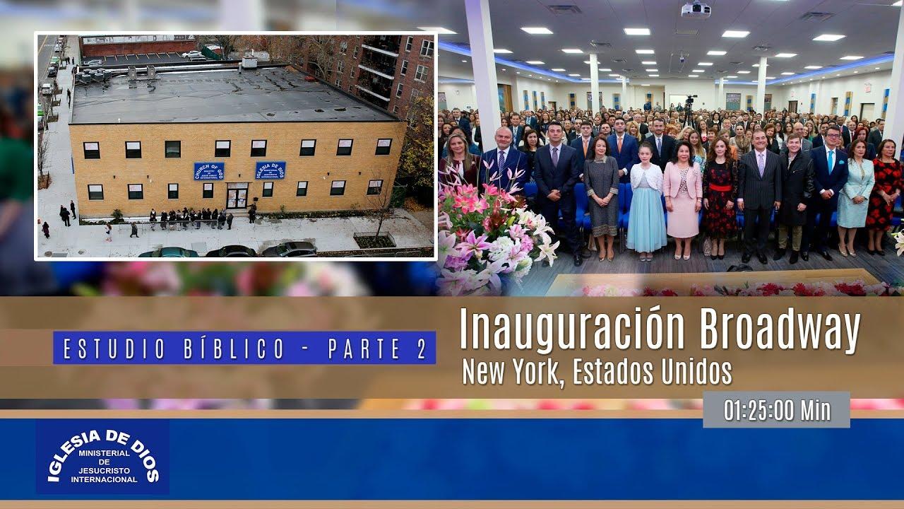 Inauguración Broadway New York, USA – Parte 2