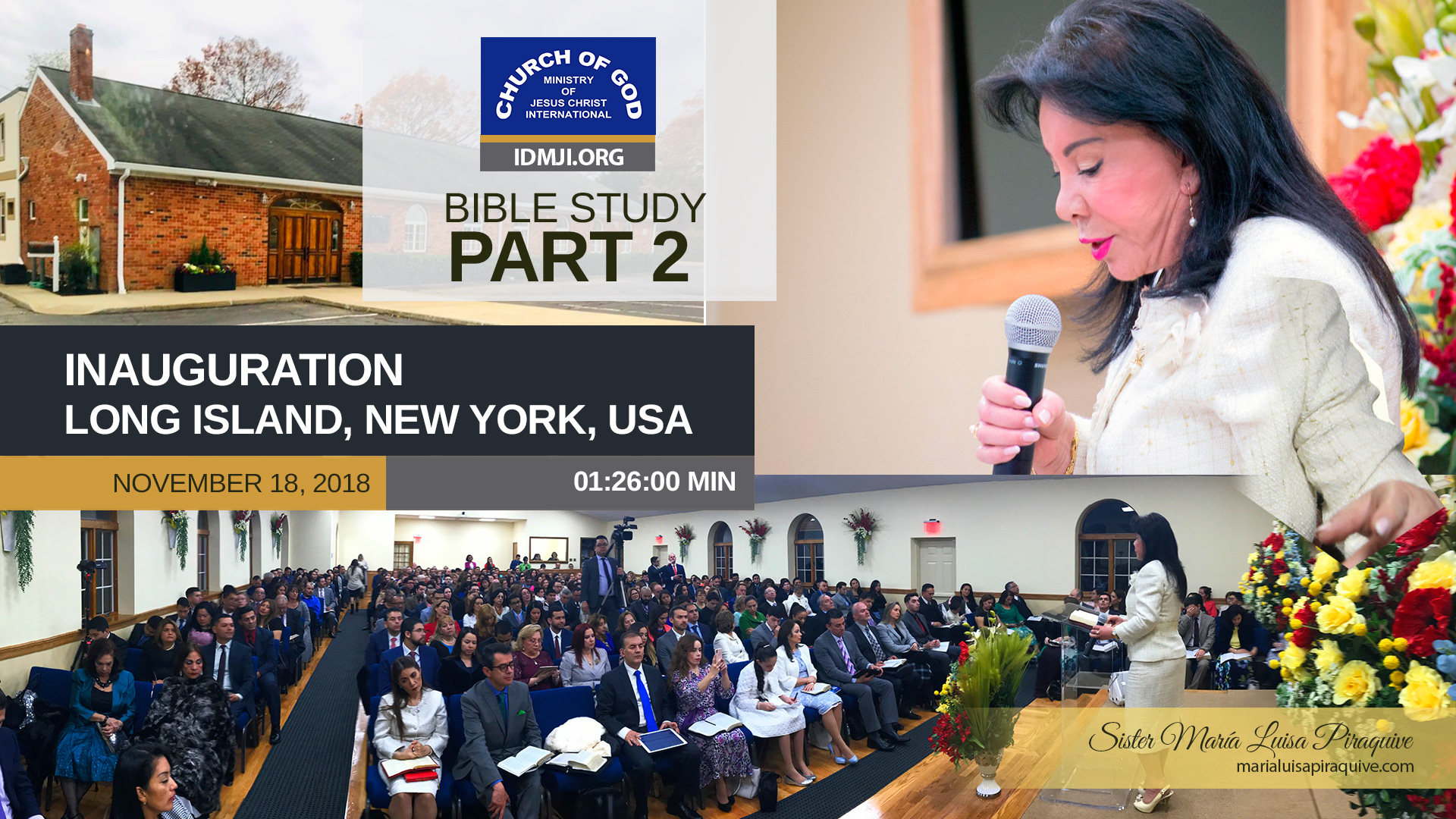 Inauguration of the Church on Long Island, New York, USA (Part 2)