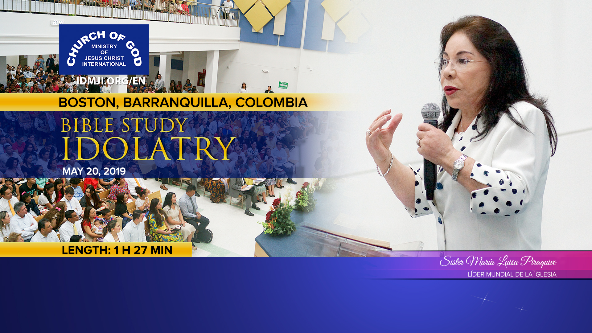 Bible Study: Idolatry – Boston, Barranquilla, Colombia
