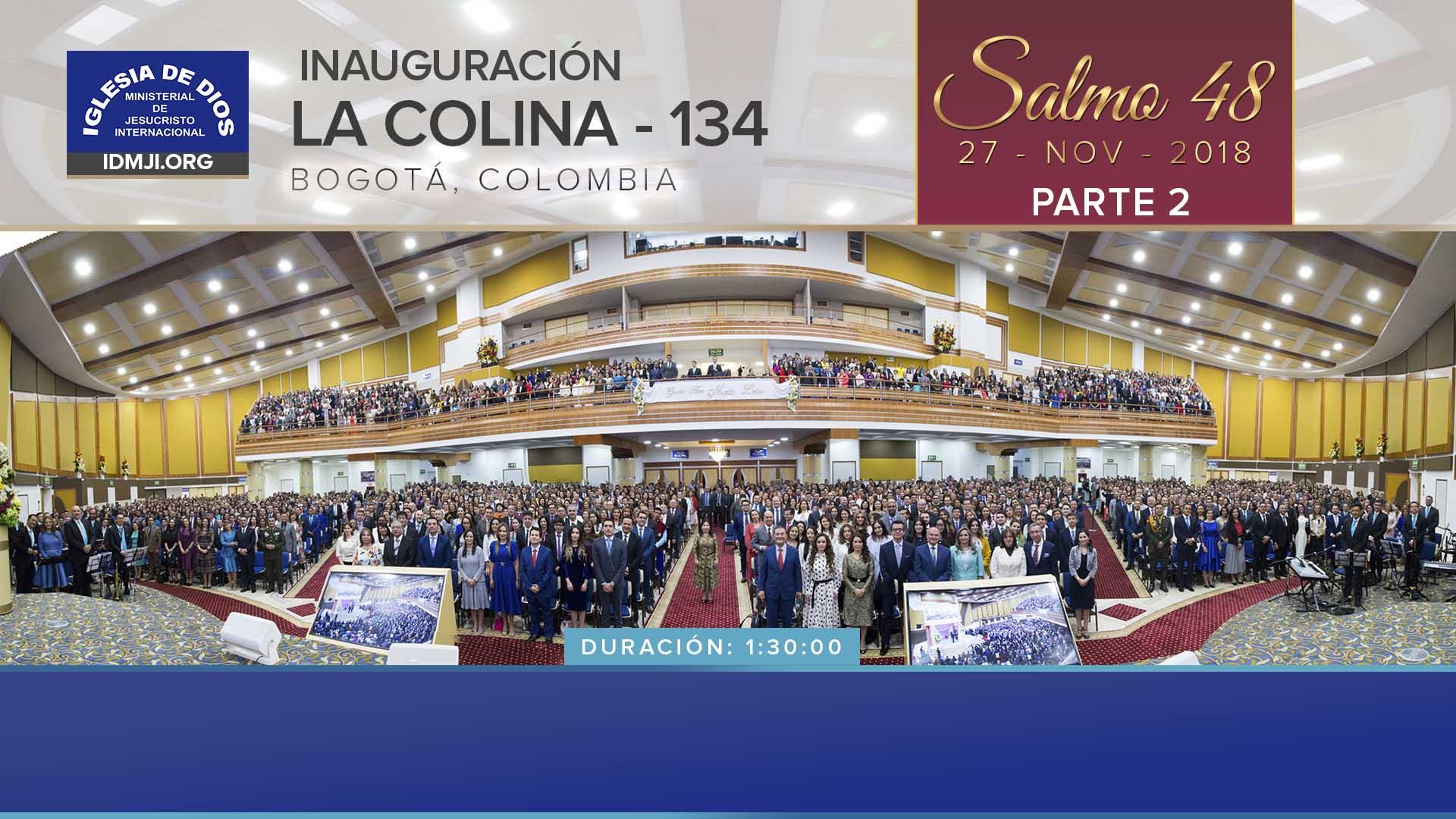 Inauguración La Colina, Bogotá – Parte 2