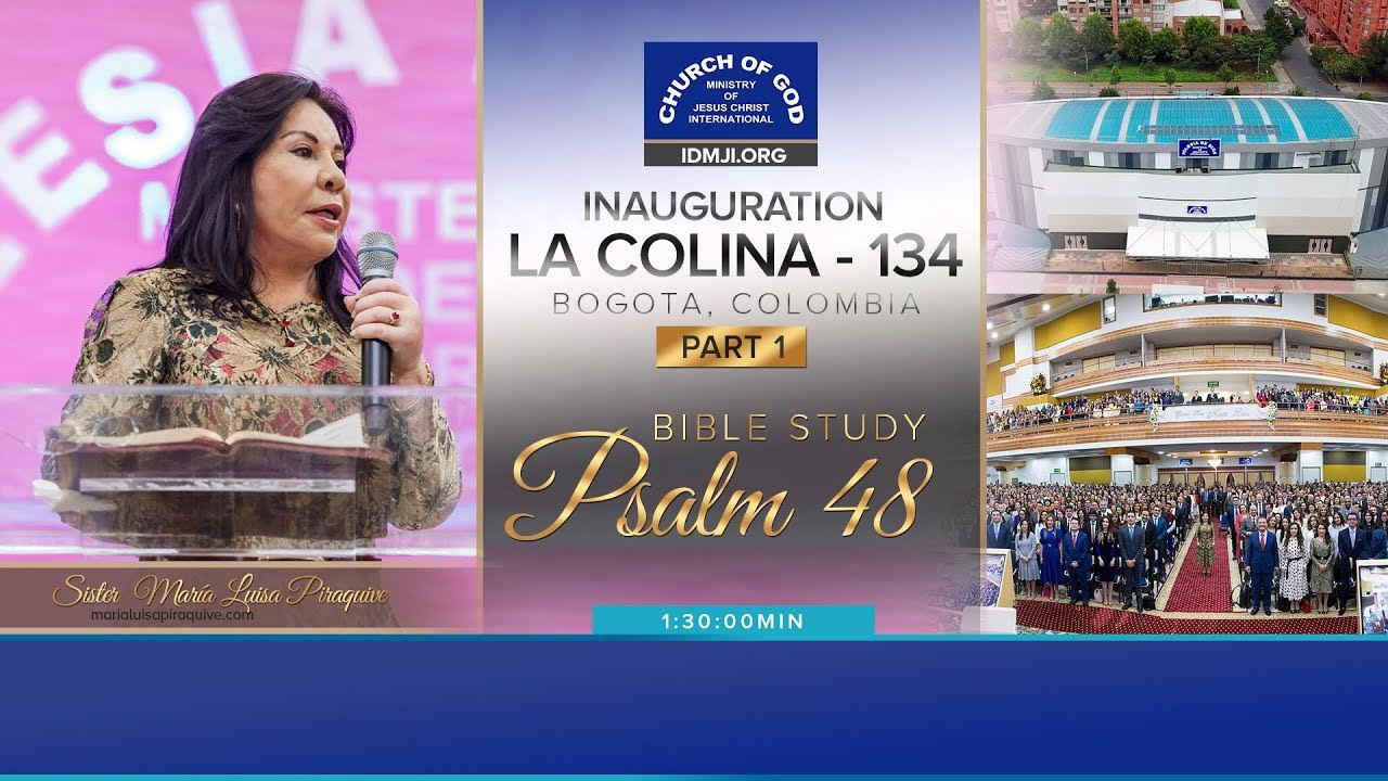 Inauguration of Church in La Colina, Bogota, Colombia (Part 1)