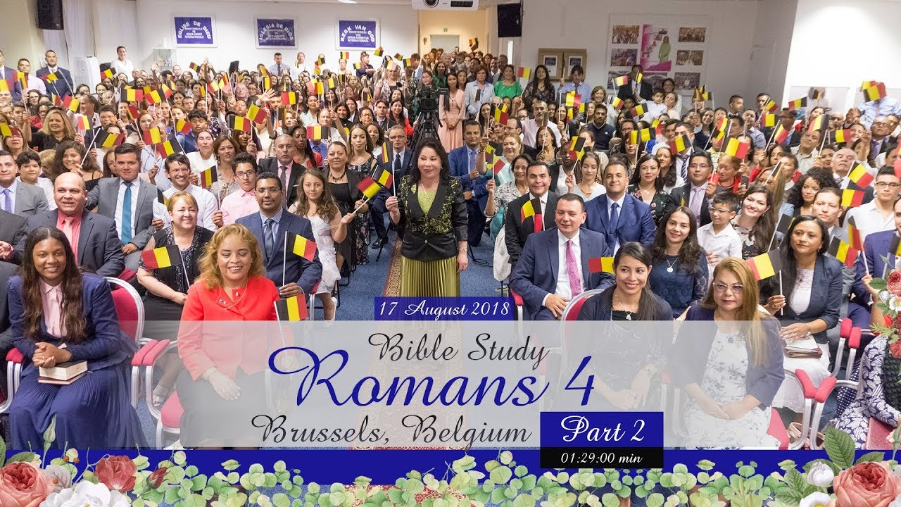 Romans 4  (Part 2) – Brussels, Belgium