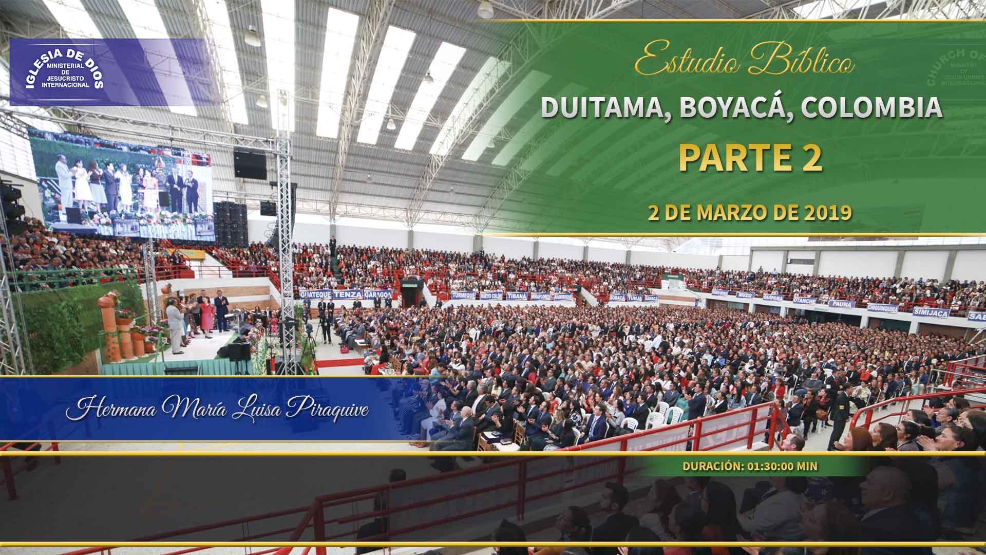 Estudio bíblico, parte 2 Duitama, Boyacá, Colombia