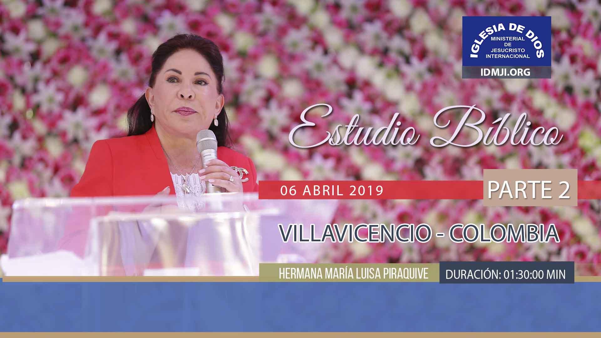 Estudio bíblico, parte 2, Villavicencio – Colombia