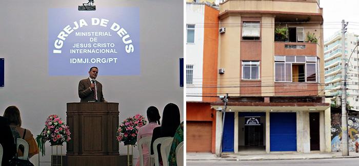 Photos: Opening of the Church in Rio de Janeiro, Brazil
