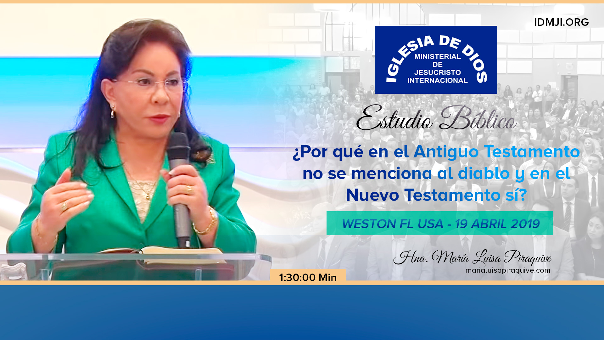 Estudio Bíblico: ¿Por qué en el Antiguo testamento no se menciona al diablo y en el Nuevo Testamento sí?