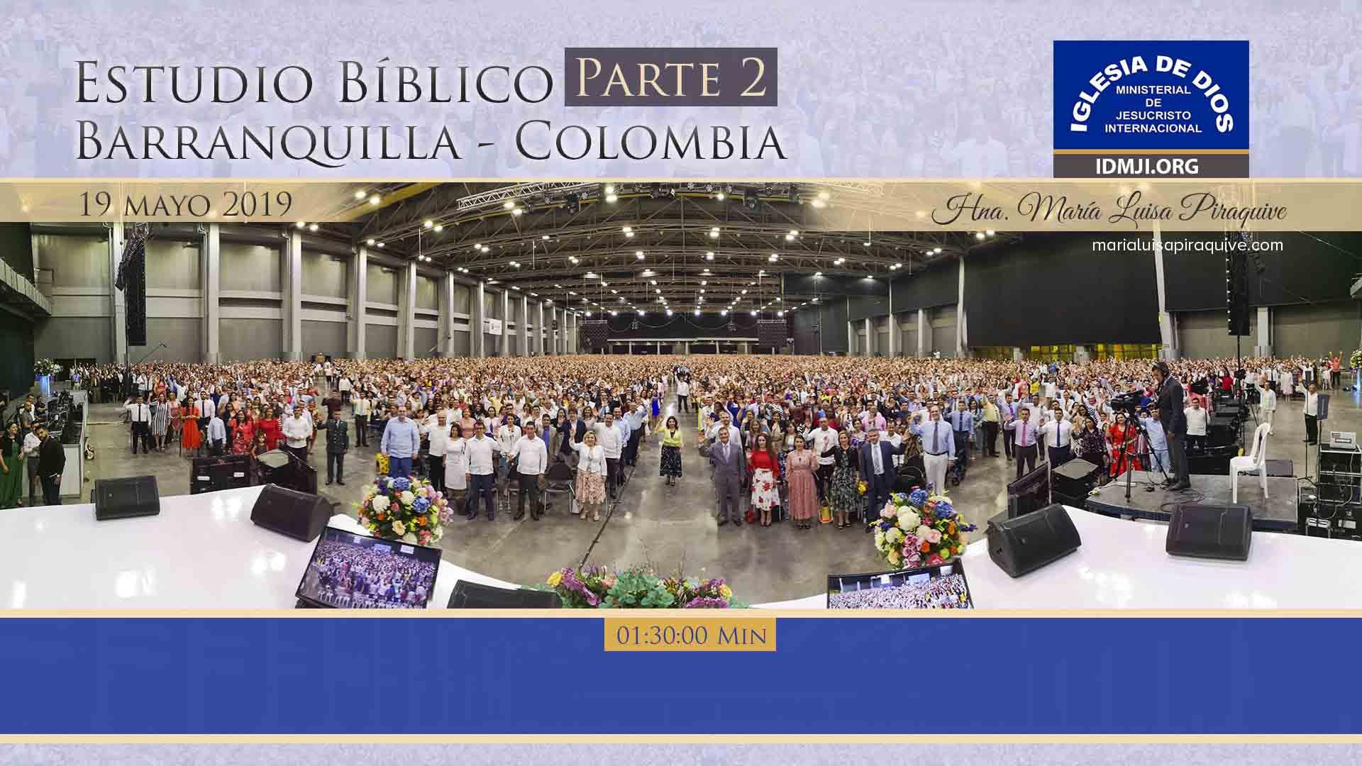 Estudio bíblico, parte 2, Barranquilla – Colombia