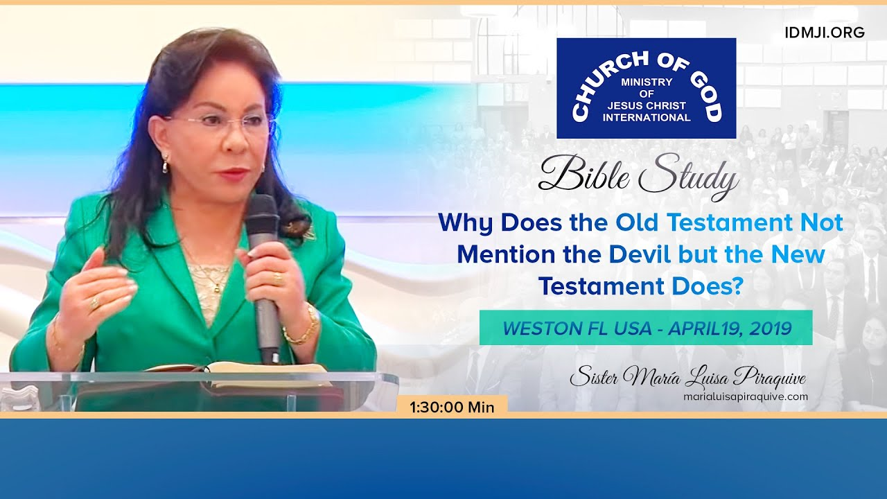 Bible Study: Why Does the Old Testament Not Mention the Devil and the New Testament Does?